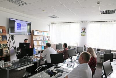 On-line cooperation meeting of the Department of Specialized Training and Canine Services of the State Customs Service of Ukraine with Customs Training Center of Lithuania