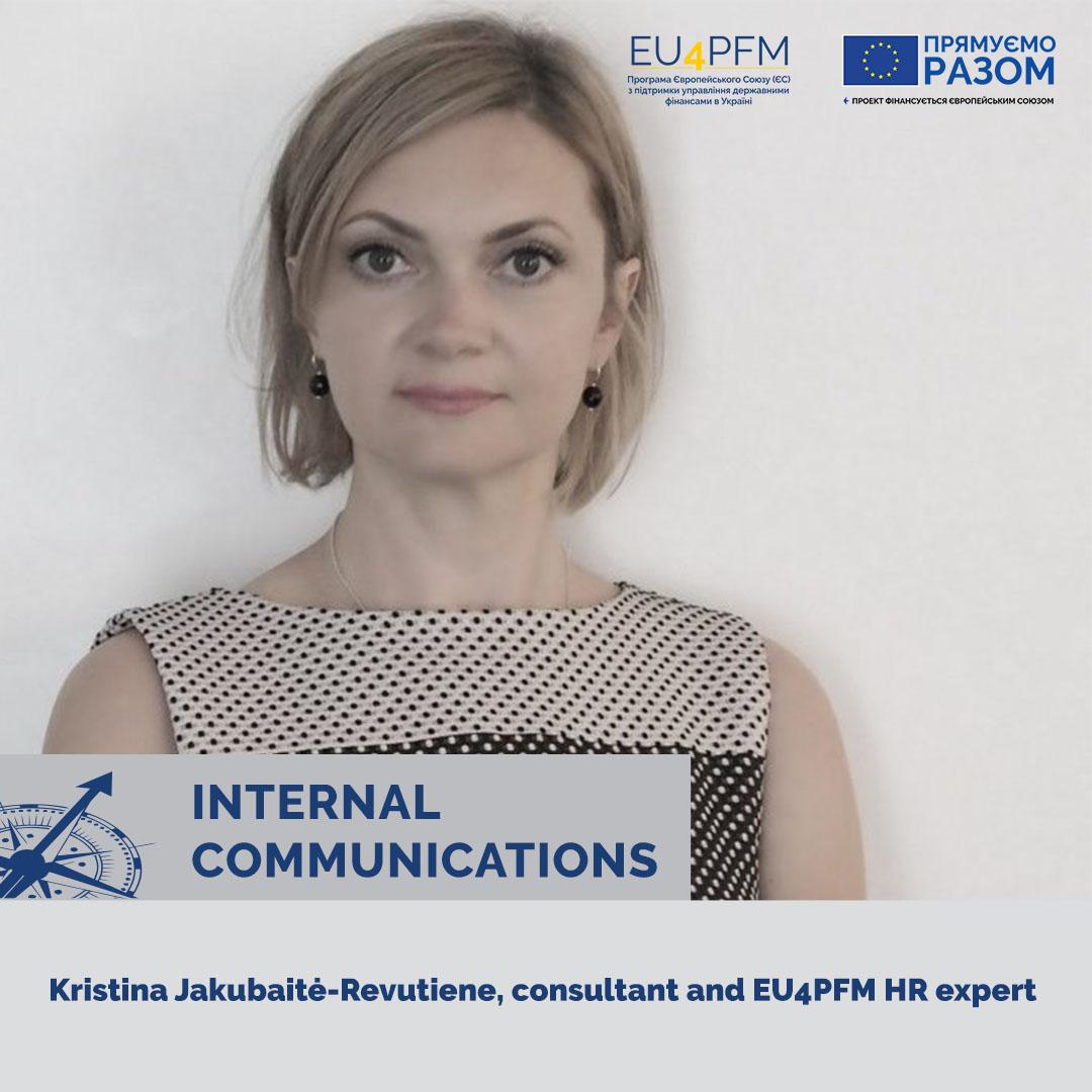 "Training on ""Internal Communications Planning"" for HR-specialists and communications specialists of the Ministry of Finance of Ukraine."