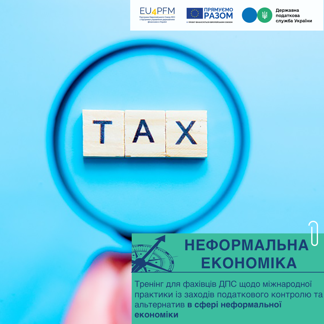 The best European practices on tax control measures are for the State Tax Service of Ukraine!